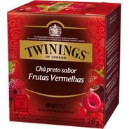 Chá Twinings Preto Frutas Vermelhas 10 Sachês