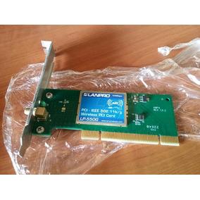Tarjeta De Red Inalambrica Wifi Pci Lanpro Lp550g 54mbps