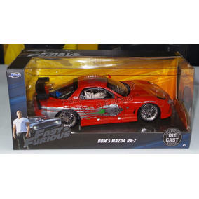 1:24 Mazda Rx7 Toretto Rapido Y Furioso Jada C Caja