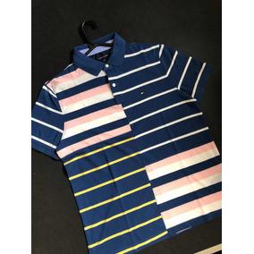 edb45699d Camisa Polo Tommy Hilfiger Listrada - Calçados