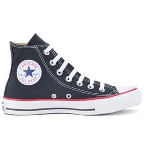 Tênis Converse All Star As Core Hi New Preto - Original