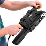 Lixadeira De Fita 220 V Tork 2 Em 1 Lixa Manual E De Bancada