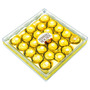 Chocolate Ferrero Rocher T-24-dorado