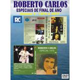 Dvd - Roberto Carlos - Especias De Fim De Ano - 42 Dvds