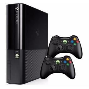 Console Xbox 360 250gb Super Slim + 2 Controles Originais