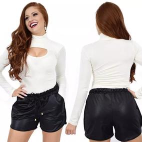 a3112665c Shorts Feminino Coro Fake - Shorts para Feminino no Mercado Livre Brasil