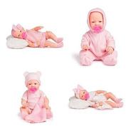Coleção Bonecas Tipo Bebê Reborn Realista Anjo Briquedos