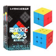 Pack Set 2 Cubos Rubik 2x2 Y 3x3 Meilong Moyu
