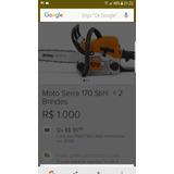 Moto Serra 170 Sthyl