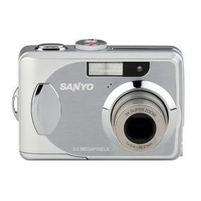 Leilão Câmera Fotográfica Sanyo Vpc503 Resolução 5mp A7604