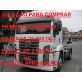 Mb 2540 2010 Teto Alto Financ 1º Caminhao