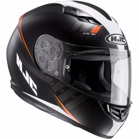 Casco Hjc Cs15 Space Negro/blanco Motos Devotobikes