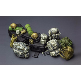 Kit Montar Meng Miniaturas Apetrechos Militares Individuais