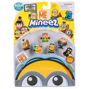 Minions Muñecos X 6 Mi Villano Favorito 3 Minnez Lelab