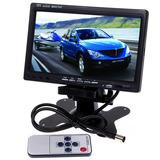 Tela Lcd 7 Polegadas Portátil Monitor Veicular Digital Rca