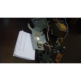 Internos Do Retroprojetor Visograf Cs2250.