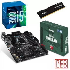 Kit- Proc. I5 7400+ Mb Msi B150m Mortar Crossfire+ 8 Gb Fury
