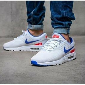 ... get tenis zapatillas nike air max zero blanca azul hombre 2018 01636  5665d aecc42d2ab99c