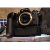 Nikon Fe Cuerpo Negro Motor Md-11 Totalmente Impecable