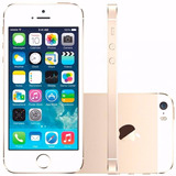 Apple Iphone 5s 16gb Semi Novo Desbloqueado Gold C Garantia