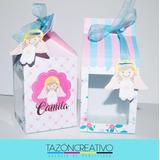 Cajas Personalizadas Troquelada Y Recuerdo Bautizo Cumpleaño
