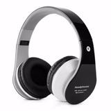 Fone Head Phone Ouvido Bluetooth Auxiliar P2 Cartão Sd Md