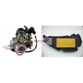 Carburador Burgman125 05 A 10 C/ Afog Automático + Filtro Ar