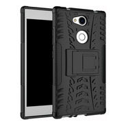 Estuche Protector Antichoque Jkase Sony Xperia L2 - Negro