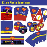 Kit De Fiesta Superman