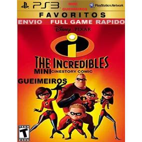 Os Incriveis The Incredibles Ps3 Jogo Infantil Aventura Luta