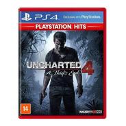 Uncharted 4 - Playstation 4 Ps4 Ps5  Original - Lacrado Nfe