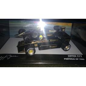 Ayrton Senna - 1ª Vitória Lotus 1985 - 1:43 - Adesivada Jps