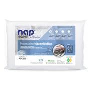 Travesseiro Antialérgico Nasa Home Nap 48x68x14cm Visco
