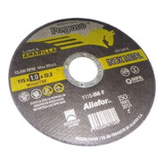 Disco Corte Aliafor Pegaso Inoxidable Metal 115x3x22