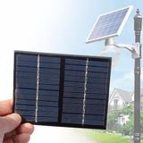 Célula Painel Placa Solar 18 Voltes Carrega Bateria 12v