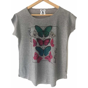Remera X 6 Mujer Talles Eleccion Estamp Fashion Guru Remeras