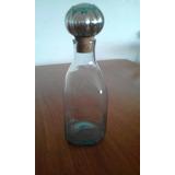 Botella De Vidrio Grueso Con Tapa De Corcho