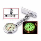 Reloj Medico Doctor Auxiliar Enfermeria Acero Luminoso Salud