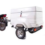 Carreta Reboque Baú G Para Motos Flexmoto; Carretinha Moto