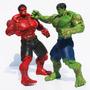 Red Hulk Verde Figura De Acción Marvel Loose 26cm