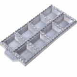 Forma P Tortei Pastel Tortelone Ravioli Aluminio 8 Cavidades
