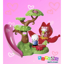 Hello Kitty Play Set Casa Del Árbol Con Hello Kitty Y Daniel