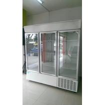 Refrigerador Comercial 3 Puertas, Marca Nieto