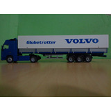 Camion Semitrailer Con Toldo Volvo Fh12 Globetrotter Xl