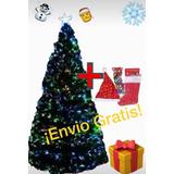 Arbol Fibra Optica Multicolor 1.80 Mts Mas Regalos $1280