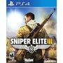 Sniper Elite Iii - Playstation 4 Standard Edition Estándar,