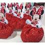 50 Bustos Para Tubete Minie Mickey Mouse 7,5cm