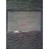 Garantia Antigua De Bateria De Carro 3 Octb Del 74