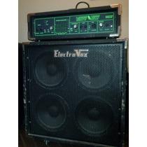 Cabezal De Bajo Valvetech 200 Watts Y Caja Electrovox 4 X 10