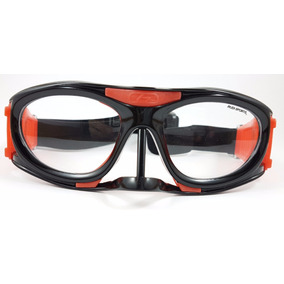 Goggle Deportivo Graduar Oftalmico Negro Protector Nariz